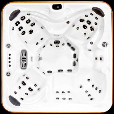 Arctic Spas top view of the Summit legend select model